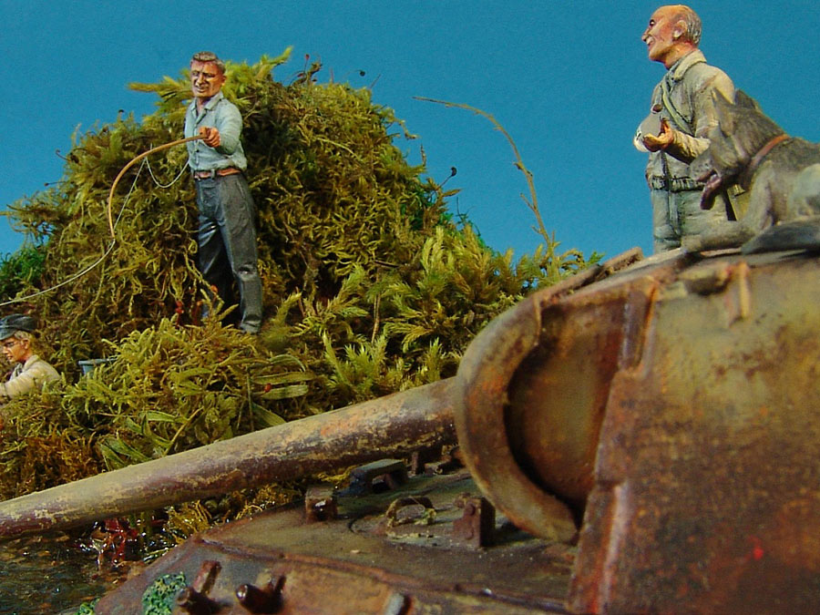 Dioramas and Vignettes: Fishy river, photo #11
