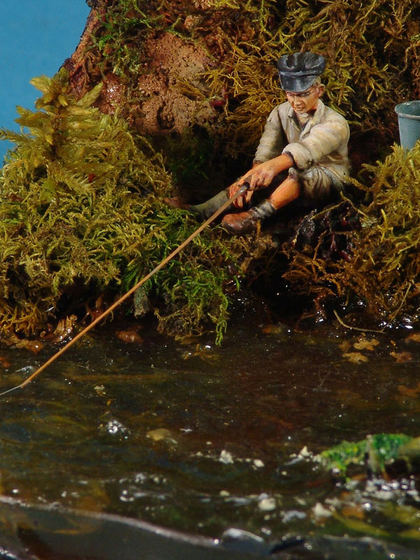 Dioramas and Vignettes: Fishy river, photo #13