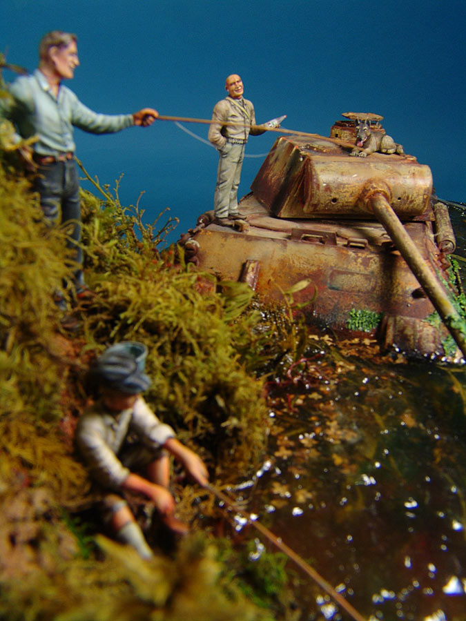 Dioramas and Vignettes: Fishy river, photo #4