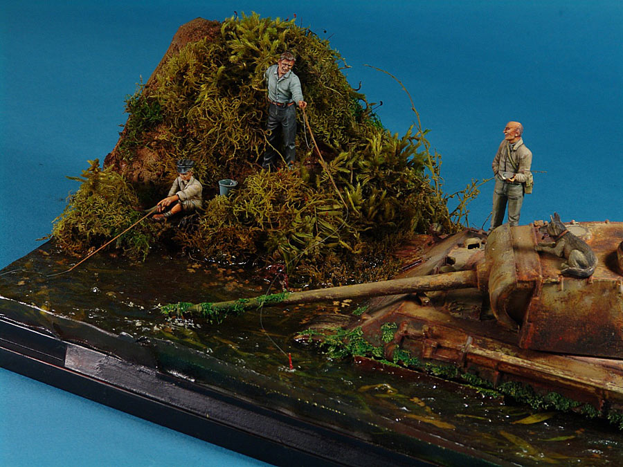 Dioramas and Vignettes: Fishy river, photo #5