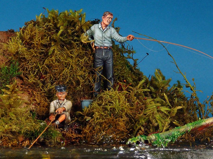 Dioramas and Vignettes: Fishy river, photo #6