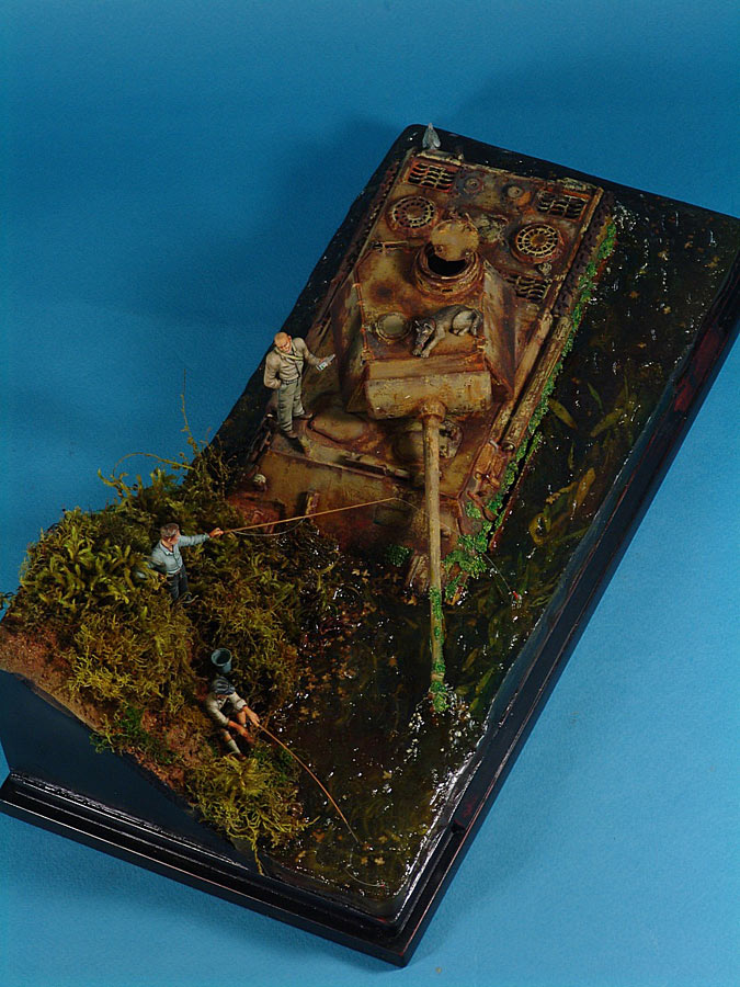 Dioramas and Vignettes: Fishy river, photo #7