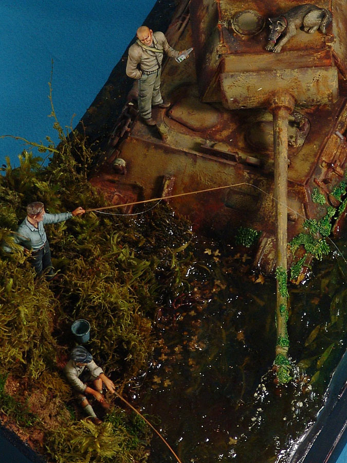 Dioramas and Vignettes: Fishy river, photo #8