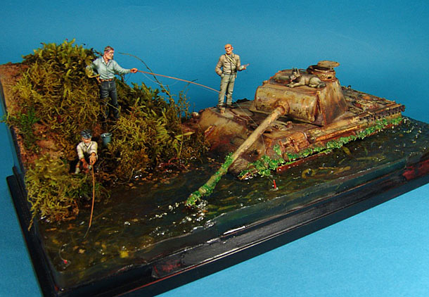 Dioramas and Vignettes: Fishy river