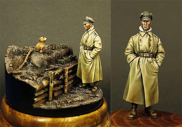 Figures: German infantry officer