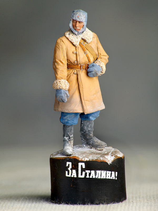 Figures: Soviet tank crewman, photo #1