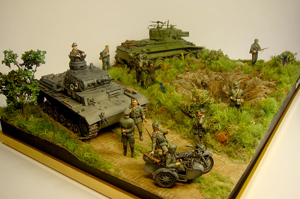 Dioramas and Vignettes: The Invasion