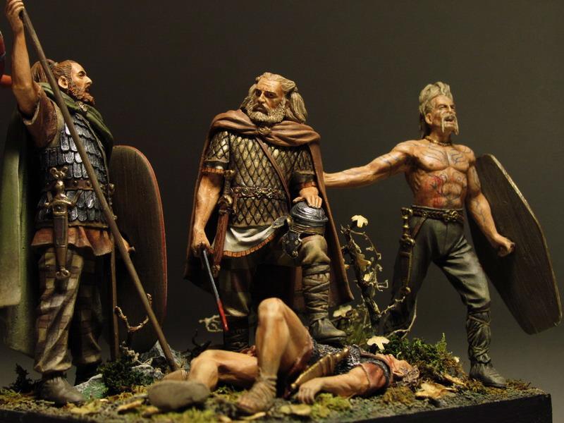 Dioramas and Vignettes: Qui gladio ferit, gladio pent, photo #13