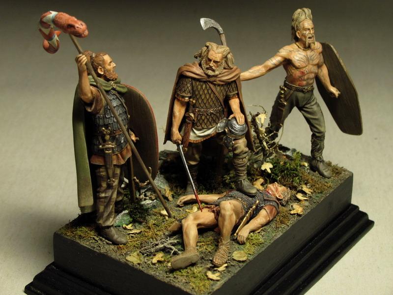 Dioramas and Vignettes: Qui gladio ferit, gladio pent, photo #15