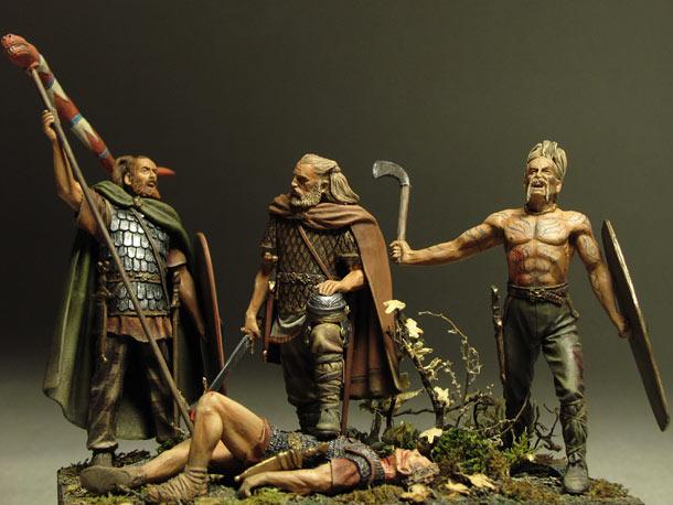 Dioramas and Vignettes: Qui gladio ferit, gladio pent