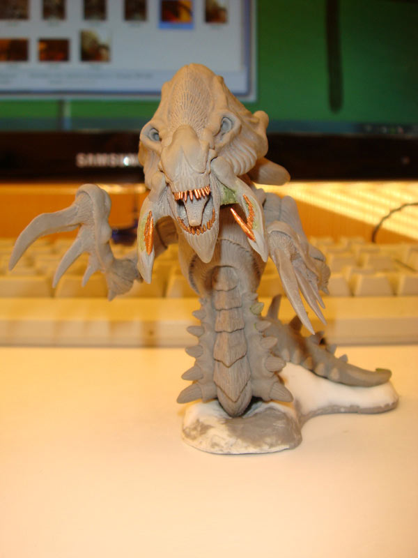 Sculpture: Hydralisk, photo #1