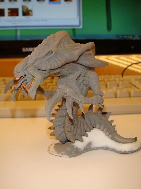 Sculpture: Hydralisk, photo #2
