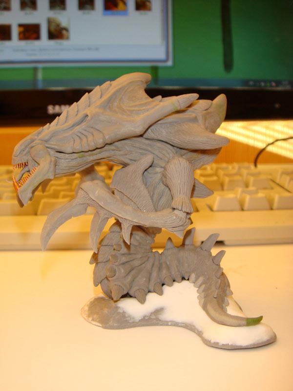 Sculpture: Hydralisk, photo #3