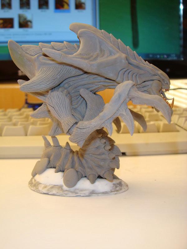 Sculpture: Hydralisk, photo #7
