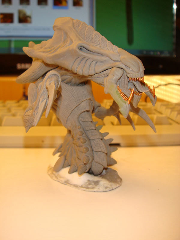Sculpture: Hydralisk, photo #8