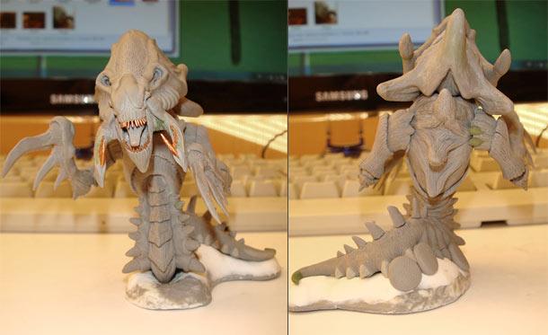Sculpture: Hydralisk