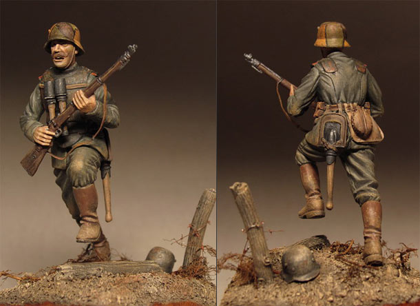Figures: German stormtrooper, 1918