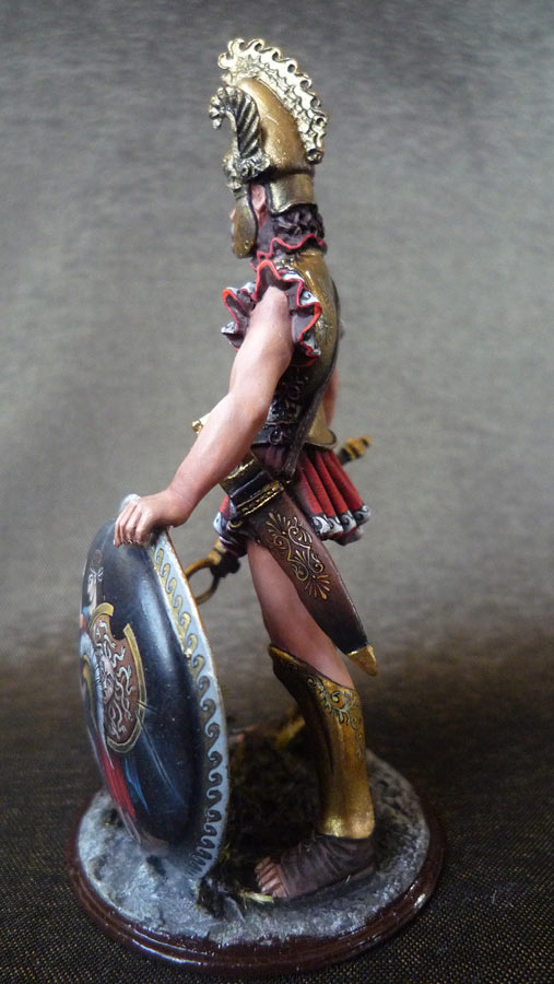 Figures: Apulean leader, IX century B.C., photo #4