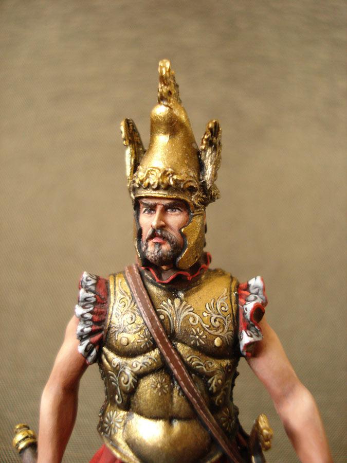 Figures: Apulean leader, IX century B.C., photo #7