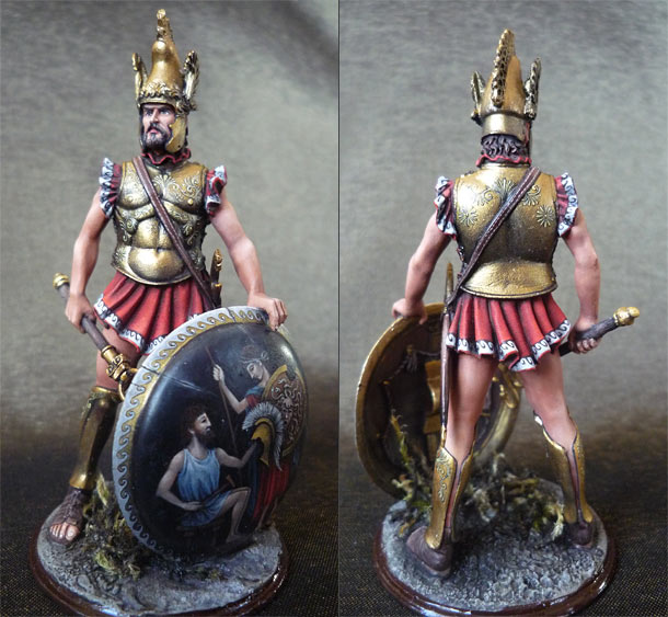 Figures: Apulean leader, IX century B.C.