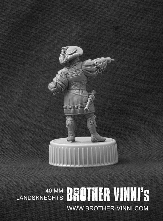 Sculpture: Landsknechts officer, photo #4