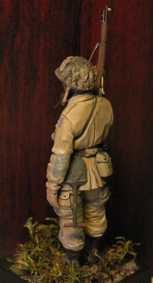 Figures: Paratrooper, 82nd Airborne div., photo #3