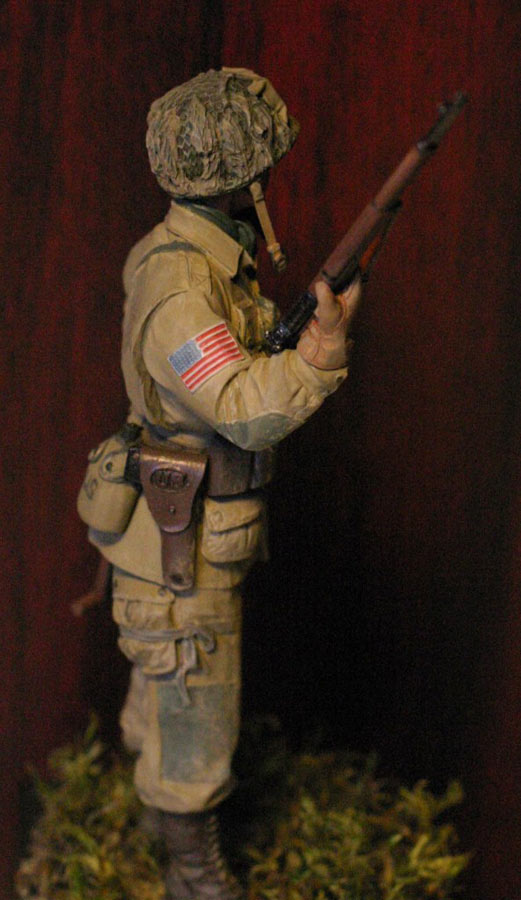 Figures: Paratrooper, 82nd Airborne div., photo #4
