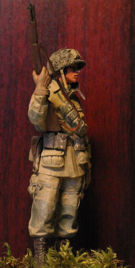 Figures: Paratrooper, 82nd Airborne div., photo #5
