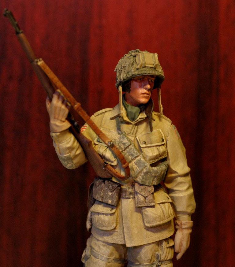 Figures: Paratrooper, 82nd Airborne div., photo #7