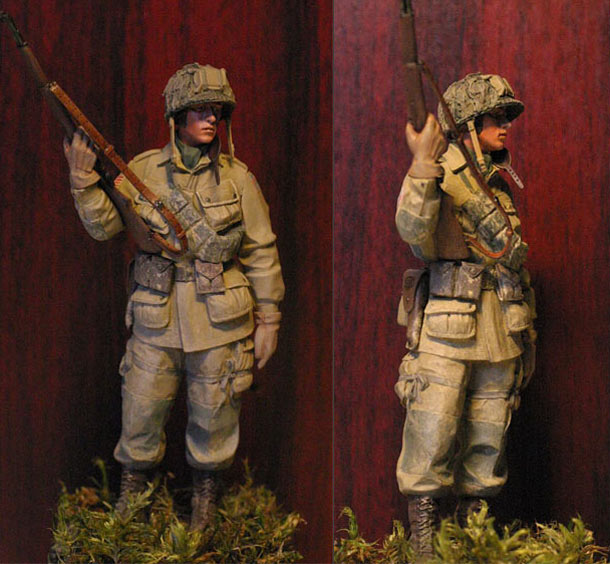 Figures: Paratrooper, 82nd Airborne div.