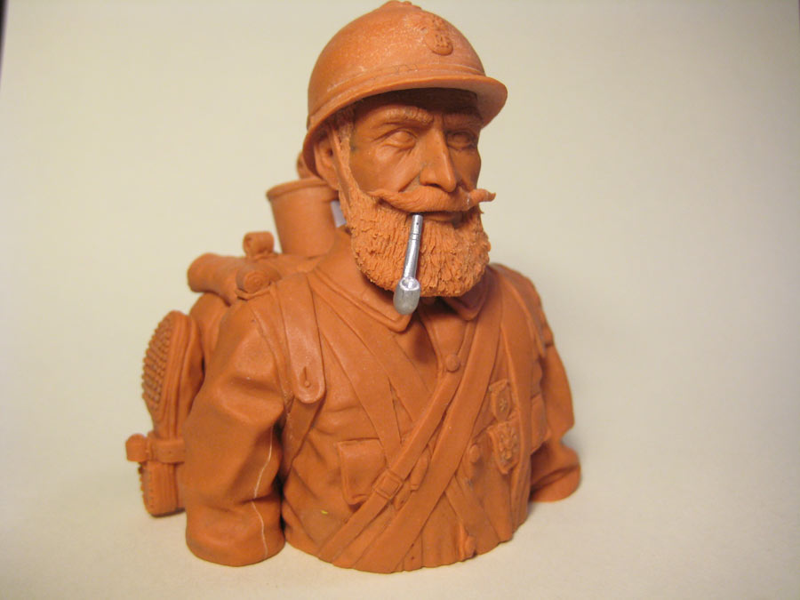 Sculpture: Poilu, photo #12