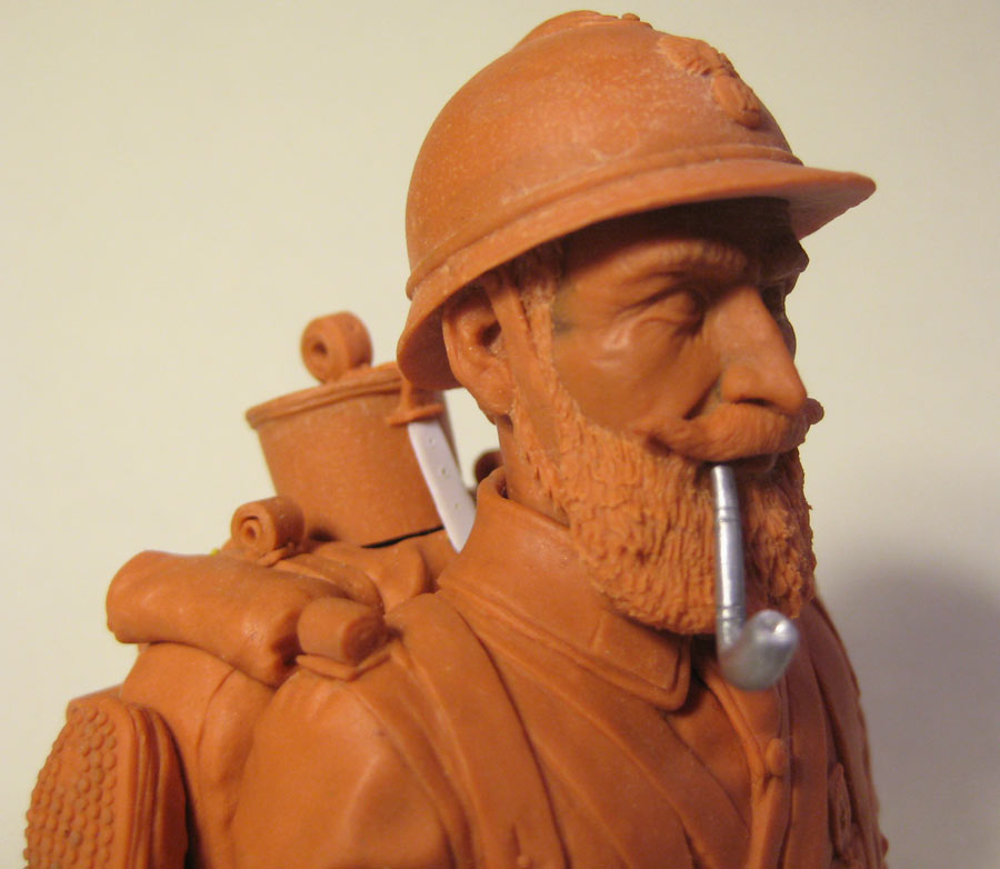 Sculpture: Poilu, photo #13