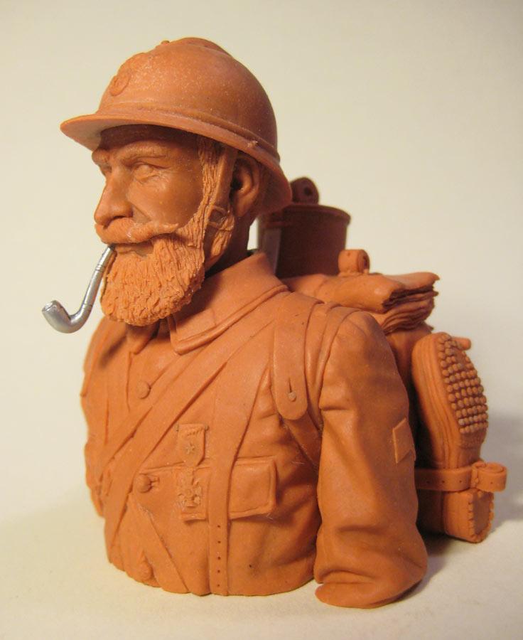 Sculpture: Poilu, photo #2