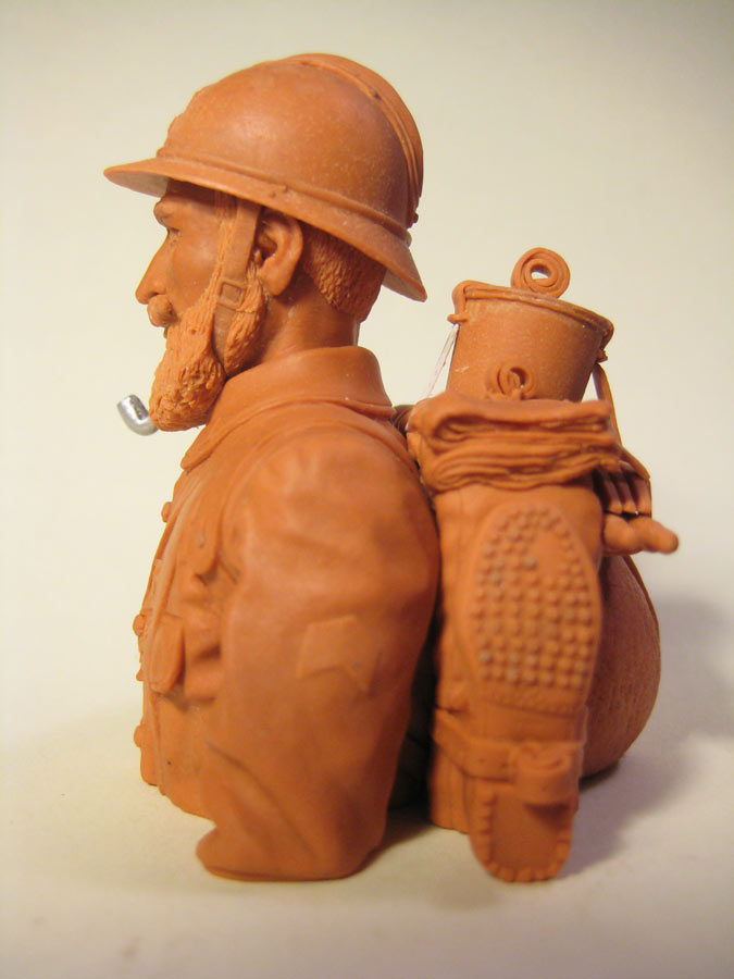 Sculpture: Poilu, photo #3