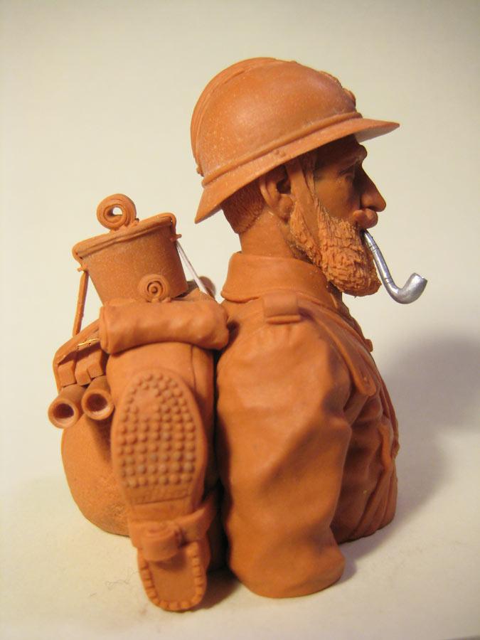 Sculpture: Poilu, photo #7