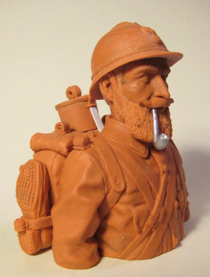 Sculpture: Poilu, photo #8