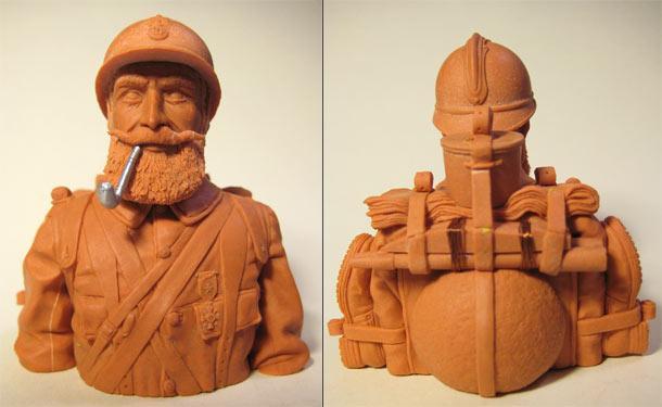Sculpture: Poilu