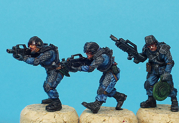 Miscellaneous: Elisian drop-troops