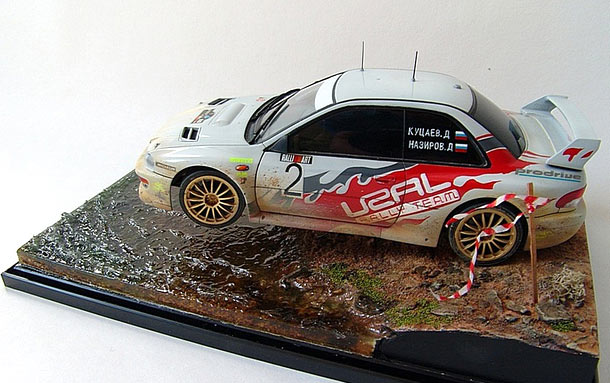 Dioramas and Vignettes: Rally