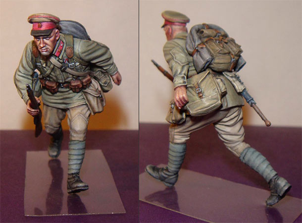 Figures: Red Army sergeant, summer 1941
