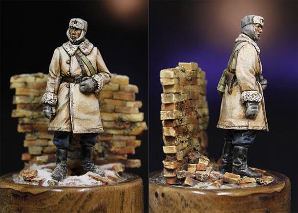 Figures: Soviet tank crewman