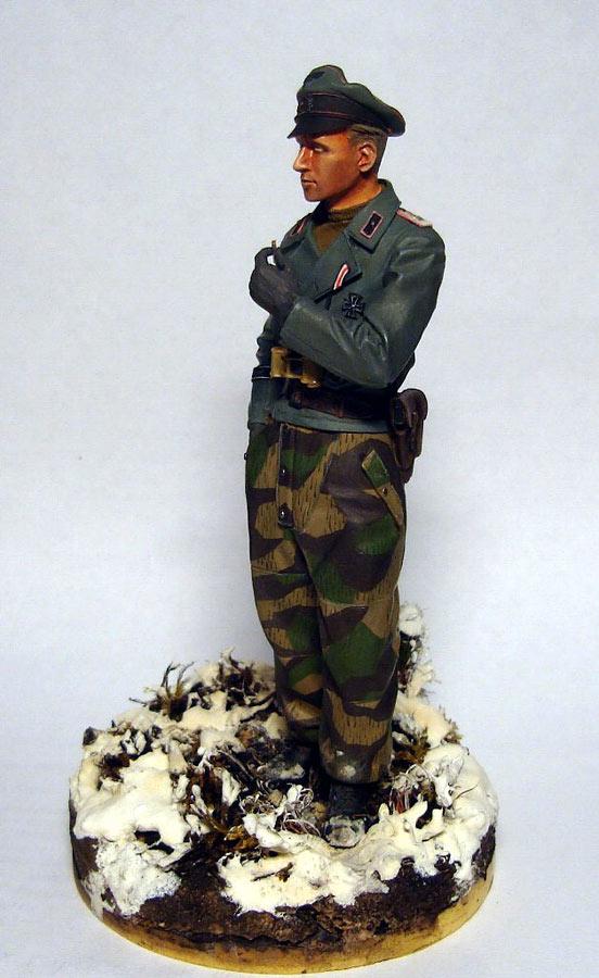 Figures: German tank officer, Grossdeutschland div., photo #1