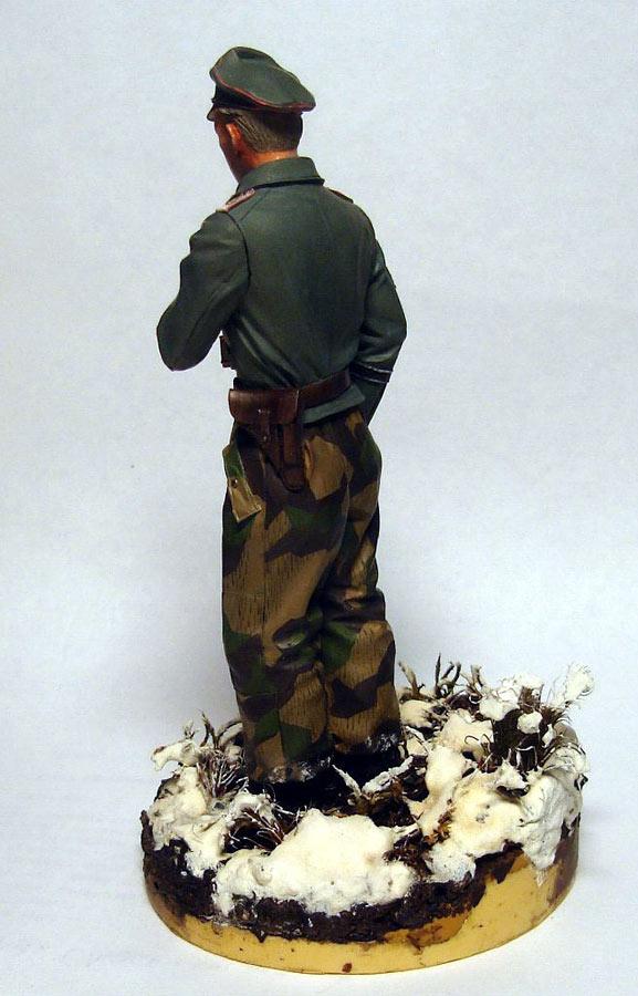 Figures: German tank officer, Grossdeutschland div., photo #3