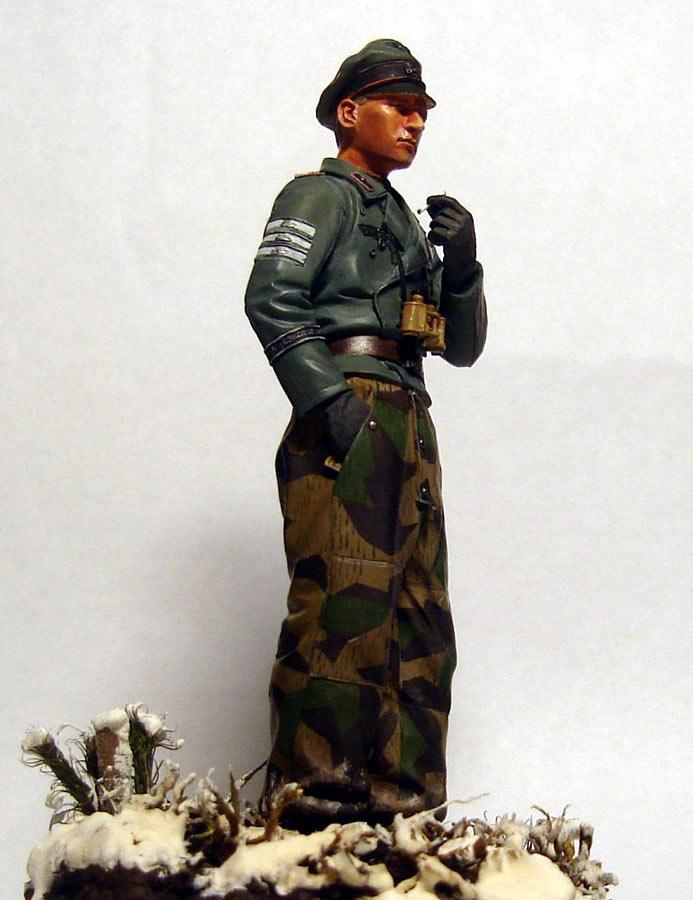 Figures: German tank officer, Grossdeutschland div., photo #5