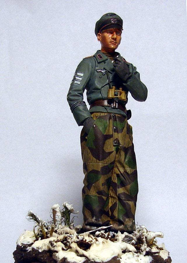 Figures: German tank officer, Grossdeutschland div., photo #6