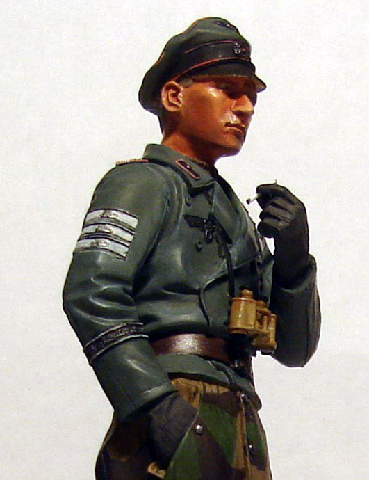 Figures: German tank officer, Grossdeutschland div., photo #7