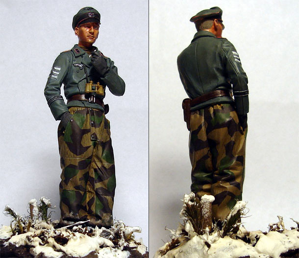 Figures: German tank officer, Grossdeutschland div.