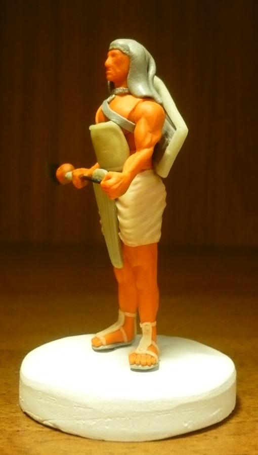 Sculpture: Egyptian infantryman, photo #2