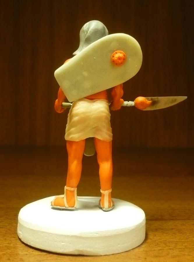 Sculpture: Egyptian infantryman, photo #3