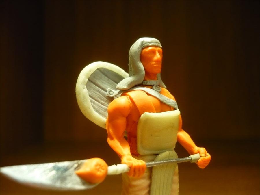 Sculpture: Egyptian infantryman, photo #7
